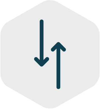 Data traffic icon